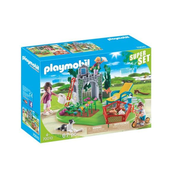 PLAYMOBIL 70010 SUPER SET FAMILIETUIN
