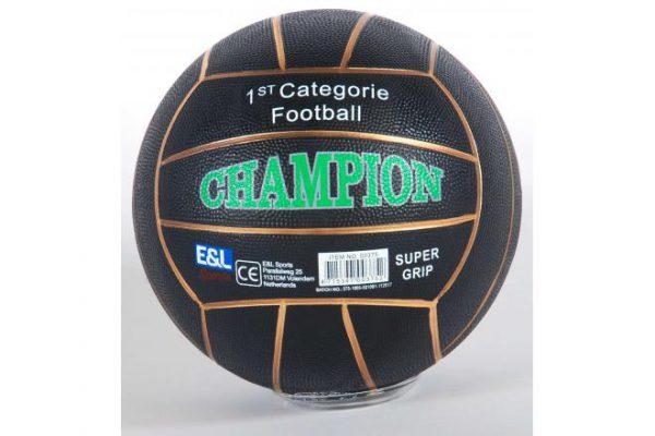 10x Rubberen Straatvoetbal Champion diverse kleuren maat 5 380 – 420 gram