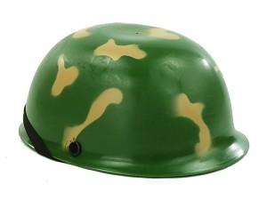 Legerhelm camouflage voor kinderen