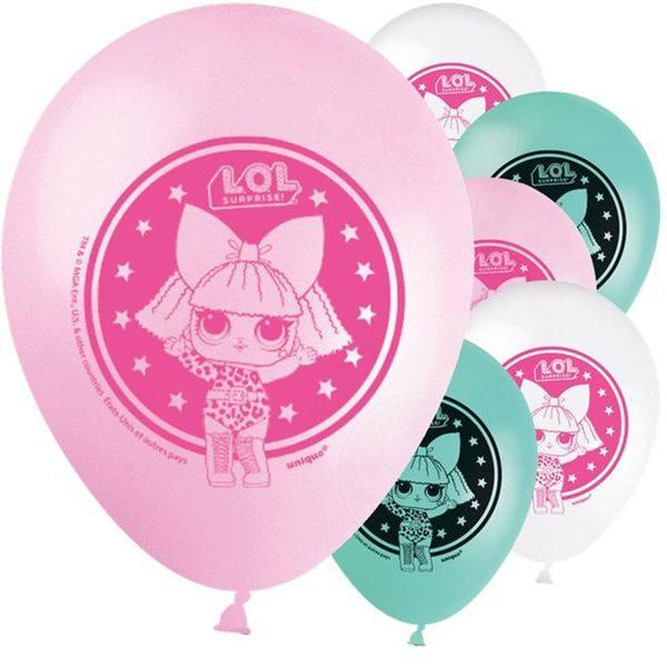 L.O.L. verrassende ballonnen 8 stuks van 30 cm