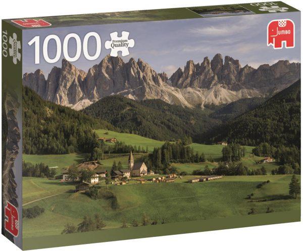 Dolomieten Jumbo premium puzzel 1000 stukjes