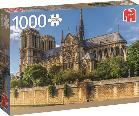 Notre Dame Paris Premium Jumbo1000 stukjes