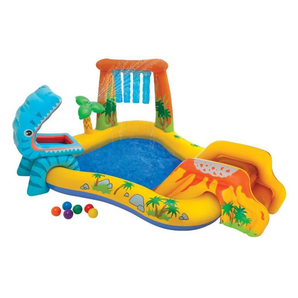 Intex dinosaurus play center 249 x 119 x 109 Cm
