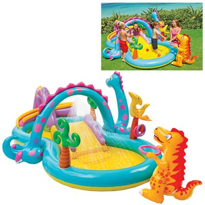Intex dino land play cente 333 x 229 x 112 Cm