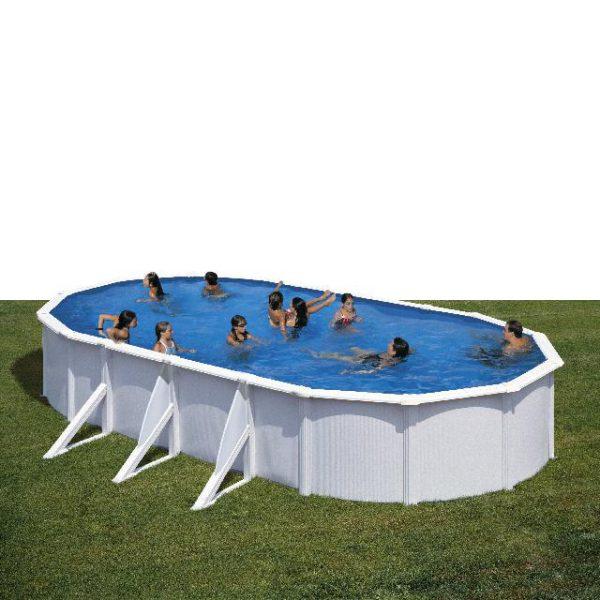 Zwembad Atlantis set ovaal 730 x 375 x 132 Cm
