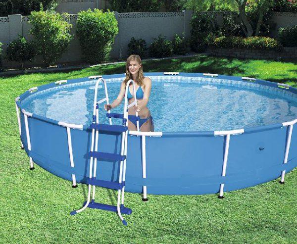 Zwembad Sirocco frame Pro Max set rond 366 x 100 Cm