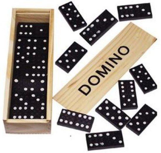 Domino spel hout