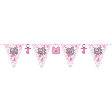 Flagbanner It's a Girl 6mtr