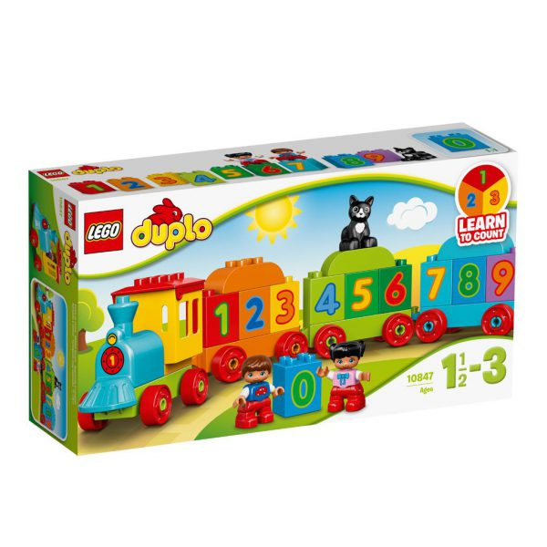 LEGO 10847 DUPLO MY FIRST GETALLENTREIN