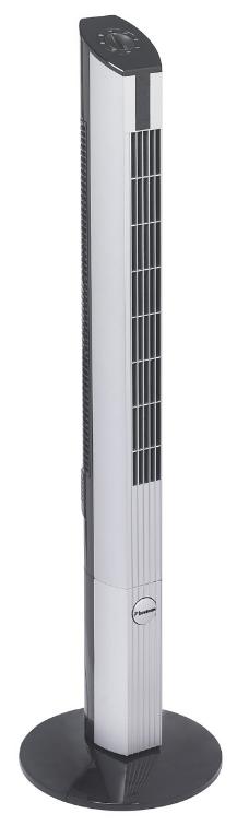 Bestron Towerventilator DFT430 – Zwart met Zilver – 45W