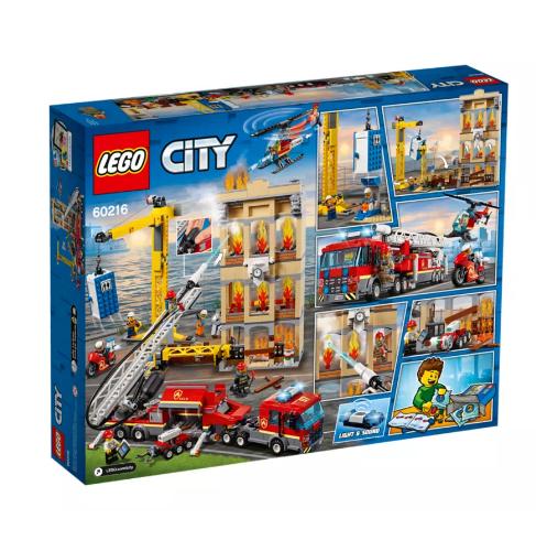 Lego 60216 Brandweerkazerne in de stad