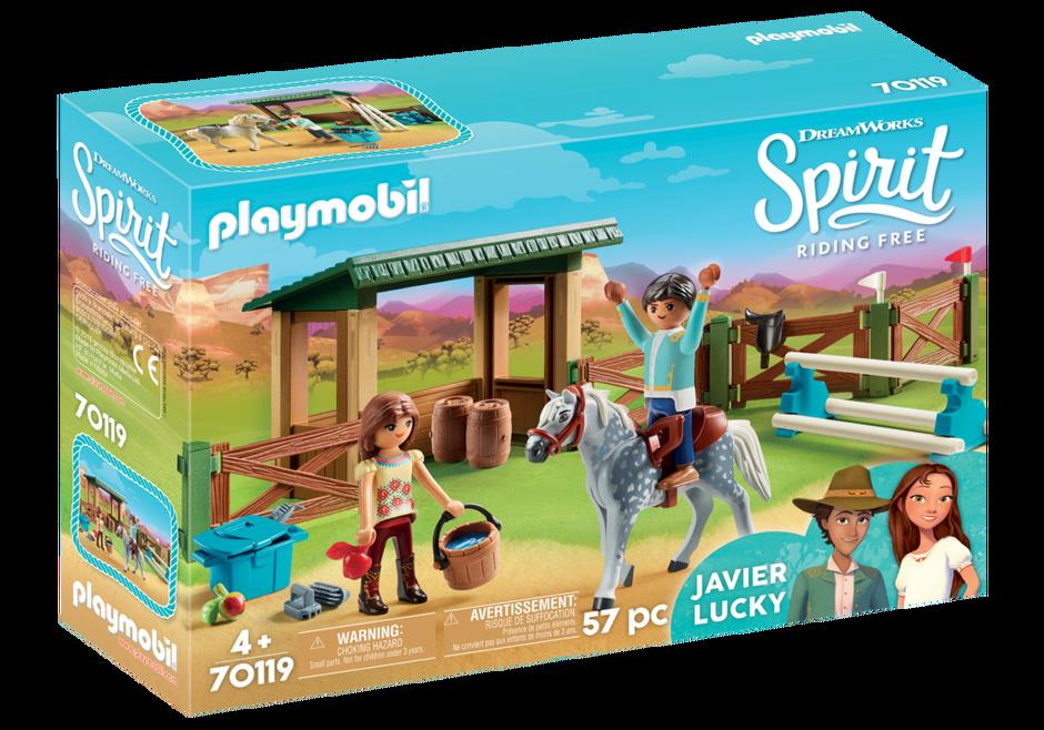 Playmobil 70119 Arena met Lucky en Javier