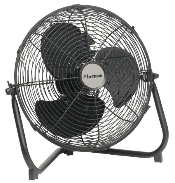 Vloerventilator DFA30 – Korf 30cm – Zwart – 55W
