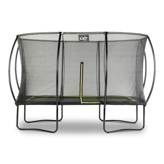 EXIT Silhouette trampoline 244 x 366 cm – zwart