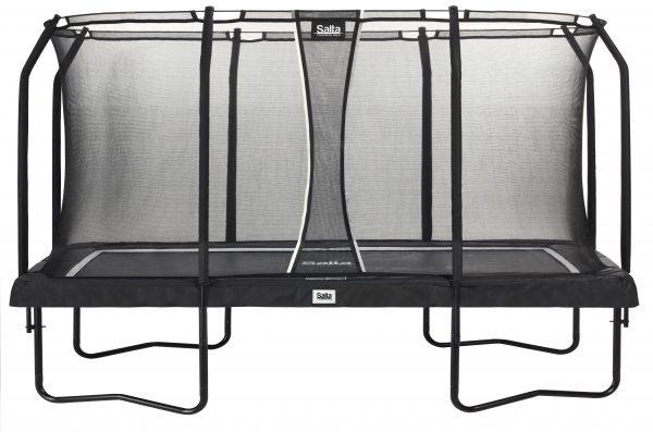 Salta rechthoekige trampoline met veiligheidsnet – Premium Black Edition 244 x 396 cm