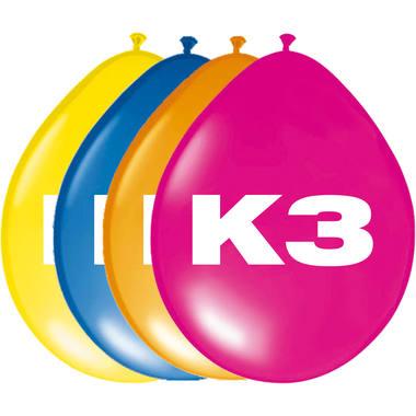 K3 Party Ballonnen – 8 stuks
