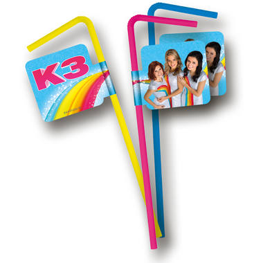K3 Party Rietjes – 8 stuks