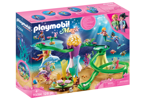 Playmobil 70094 Koraalpaviljoen met lichtkoepel