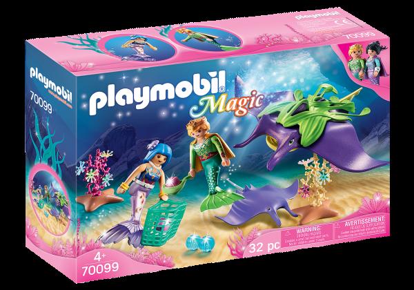 Playmobil 70099 Parelvissers met roggen