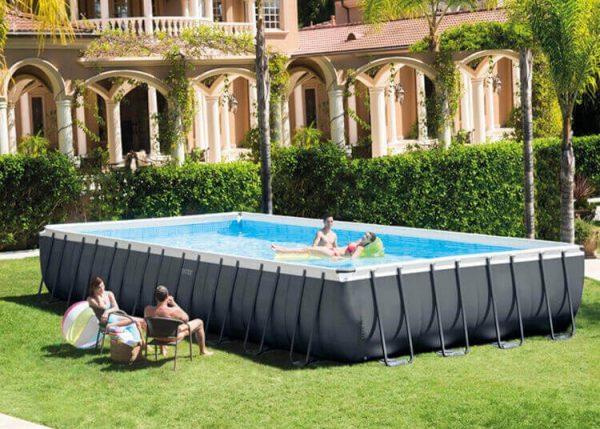 INTEX 26374GN Ultra XTR Frame Pool – 975 x 488 cm