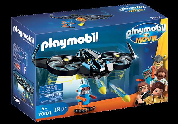 Playmobil 70071 THE MOVIE Robotitron met drone
