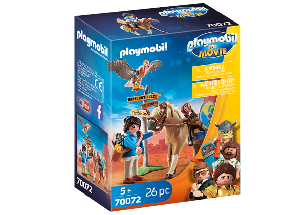 Playmobil 70072 THE MOVIE Marla met paard