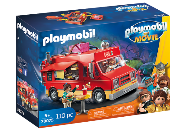 Playmobil 70078 THE MOVIE Del's Food truck
