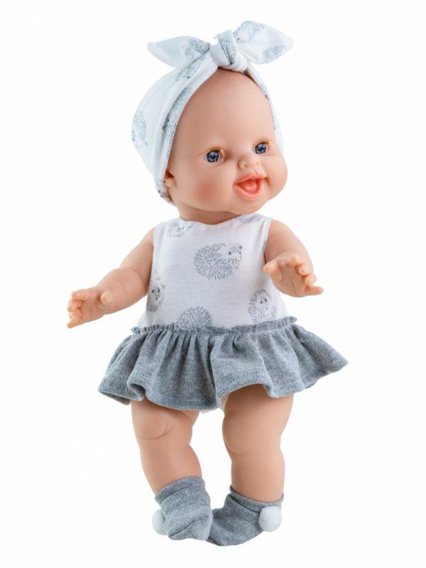 Pop Gordi meisje (lachend,egeltjes) 34cm