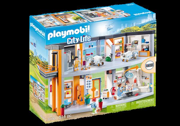 Playmobil 70190 Groot ziekenhuis met inrichting