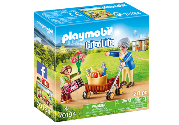 Playmobil 70194 Oma met rollator