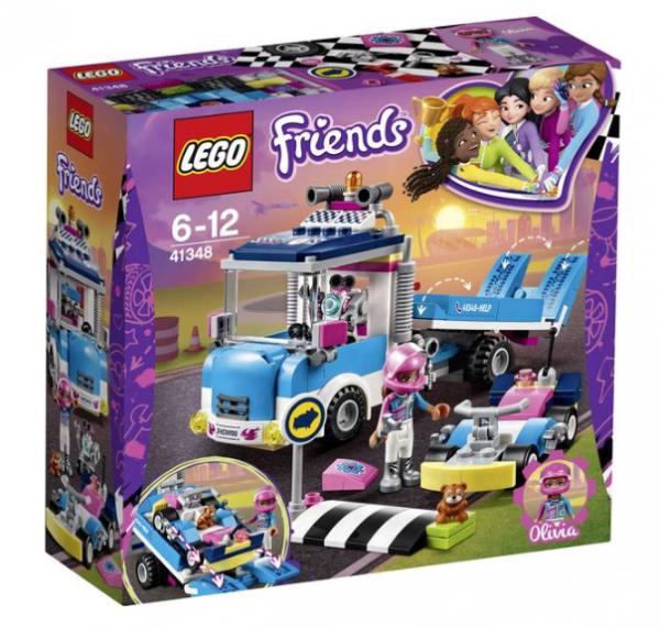 Lego 41348 Friends onderhouds en reparatietruck