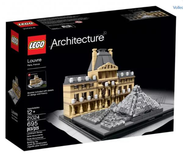 Lego Architecture 21024 Het Louvre