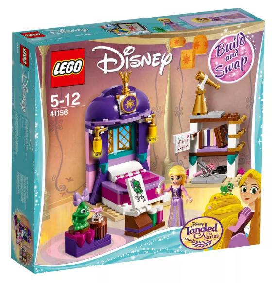 Lego Disney 41156 Rapunzel's slaapkamer