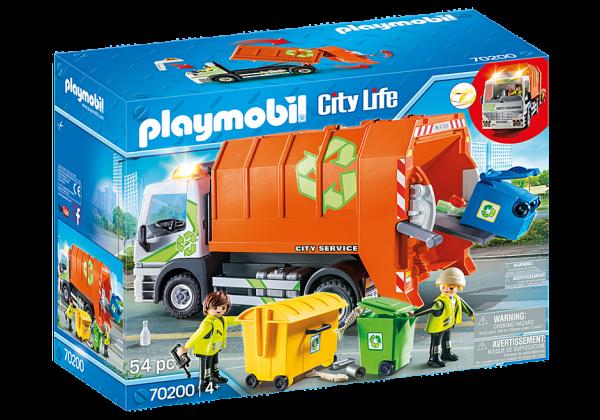 Playmobil 70200 Afval recycling truck