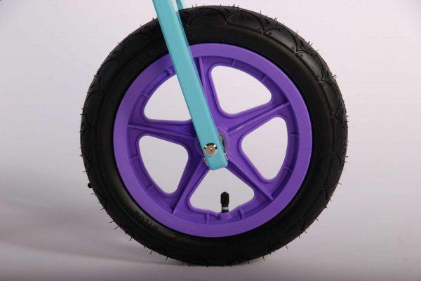 Disney Frozen Houten Loopfiets – Meisjes – 12 inch – Blauw/Paars