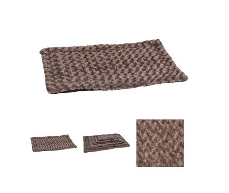 Kussen Cuddly Plat Rechthoekig Taupe 70,5×41,5x2cm
