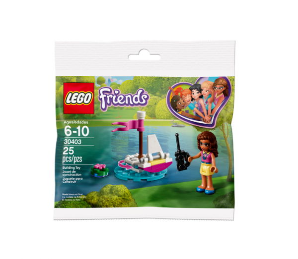 Lego 30403 Olivia's afstandbedienbare boot