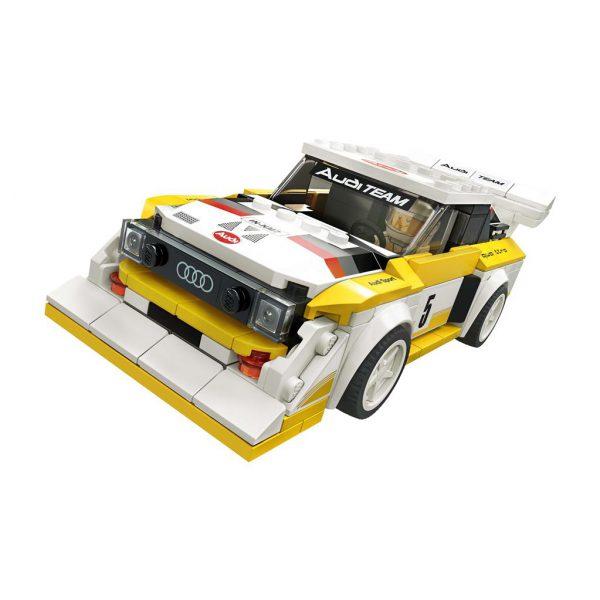 LEGO SPEED 76897 1985 AUDI SPORT QUATTRO S11