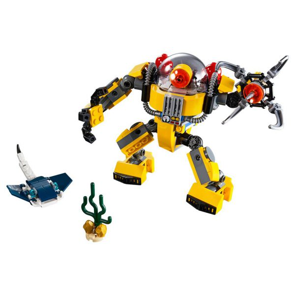 LEGO CREATOR 31090 ONDERWATERROBOT1