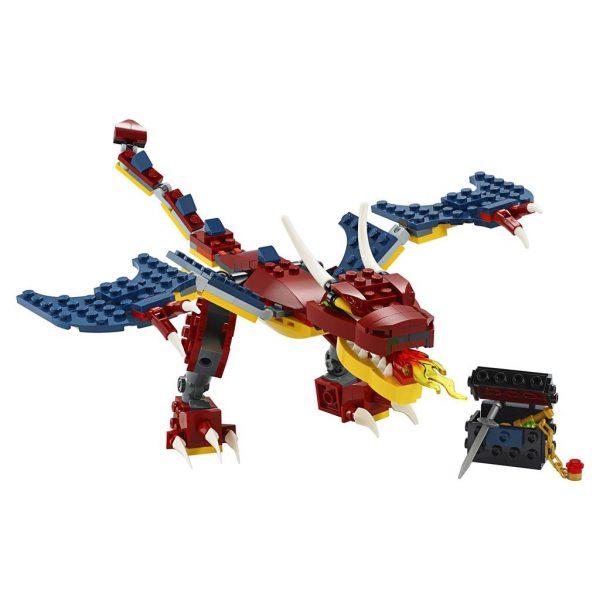 LEGO CREATOR 31102 VUURDRAAK1