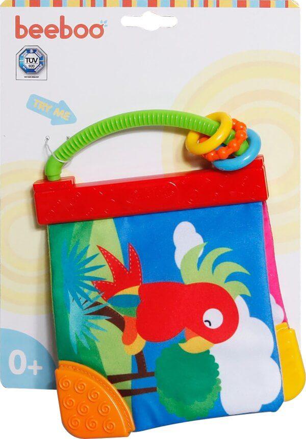 Beeboo Baby knetterboek, 2-voudig gesorteerd