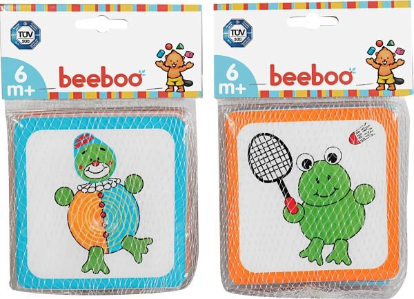 Beeboo Babybadboek, 2 keer gesorteerd