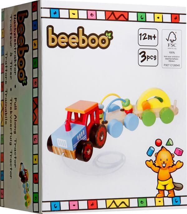Beeboo trekker met 2 opleggers