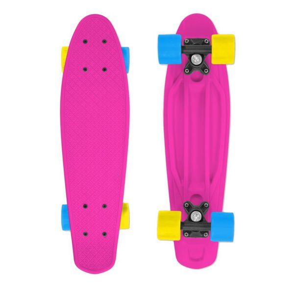 PINK Street Surfing Fizz Skateboard Pink