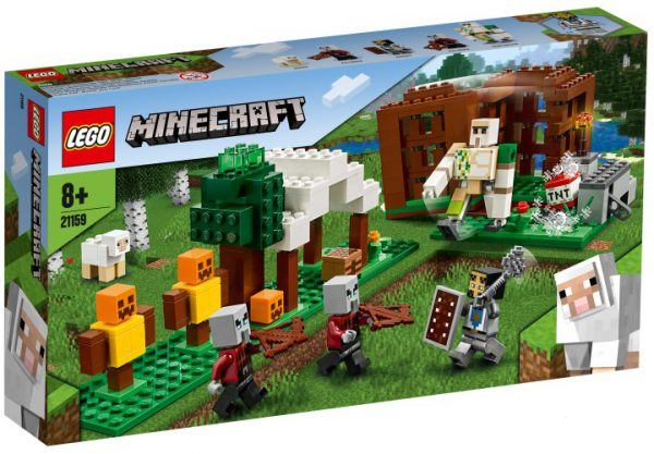 Lego 21159 MINECRAFT Pillager buitenpost