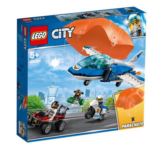Lego 60208 Luchtpolitie parachute-arrestatie